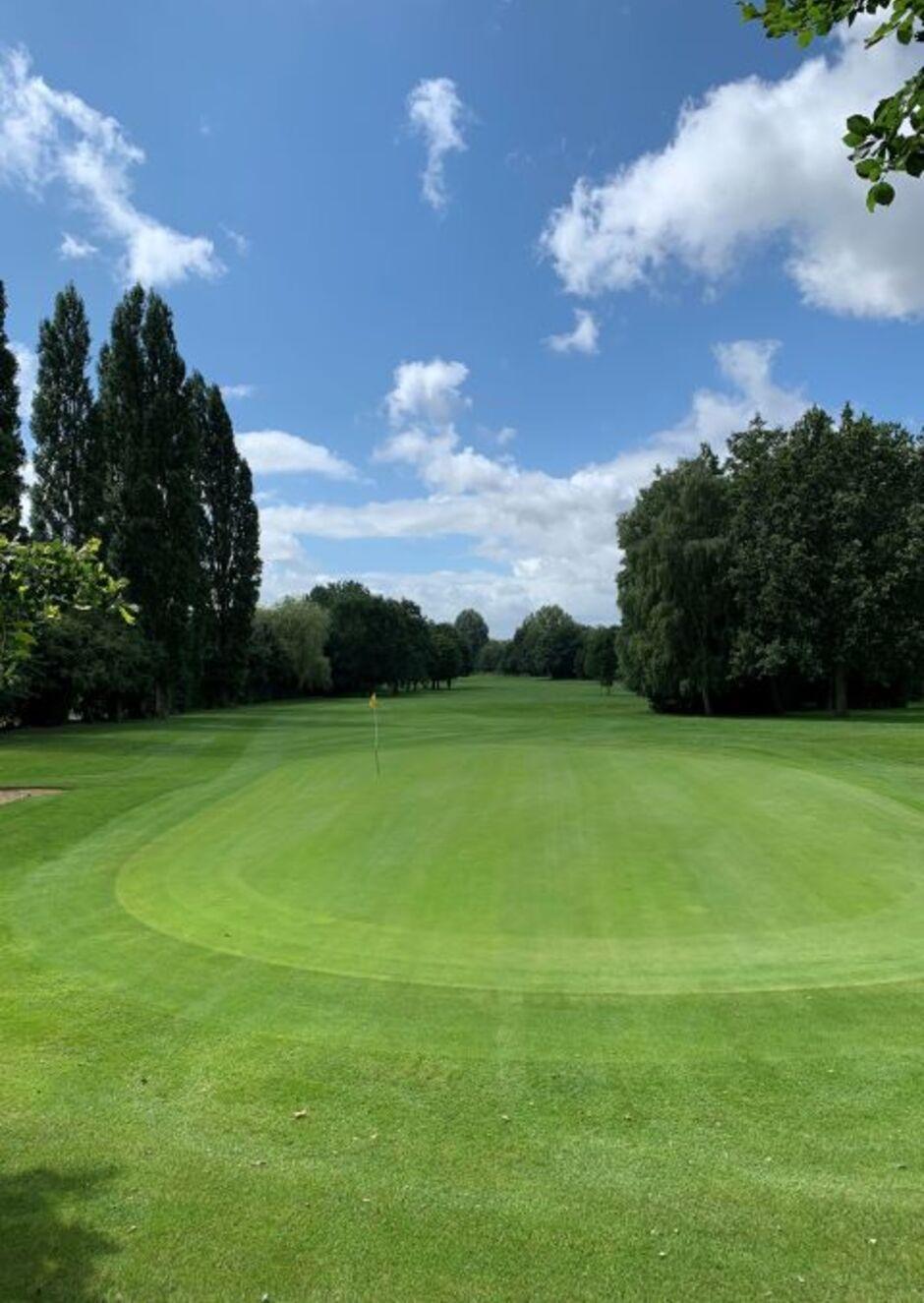 Hole 3  Letchworth Golf Club located in Letchworth Garden City Hertfordshire the worlds ...